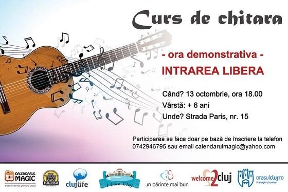Curs de chitara pentru copii