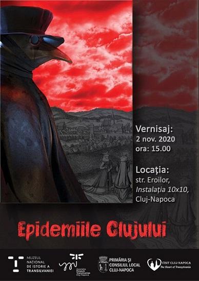 Expoziția Epidemiile Clujului
