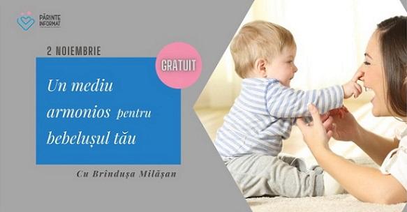 mediu armonios pentru bebelușul tău