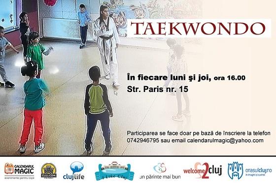 Curs de Taekwon-Do pentru copii calendarul magic