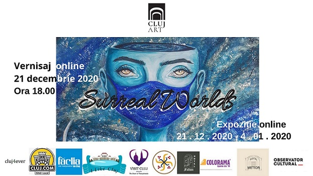 Expoziția Surreal Worlds