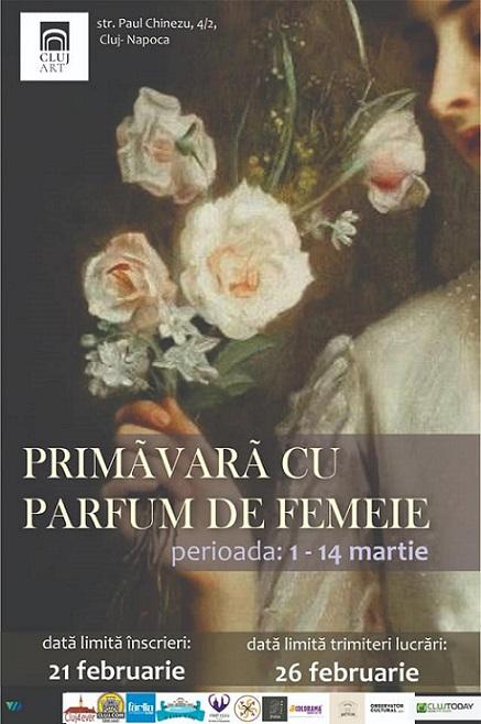 Expoziția Primăvară cu parfum de femeie
