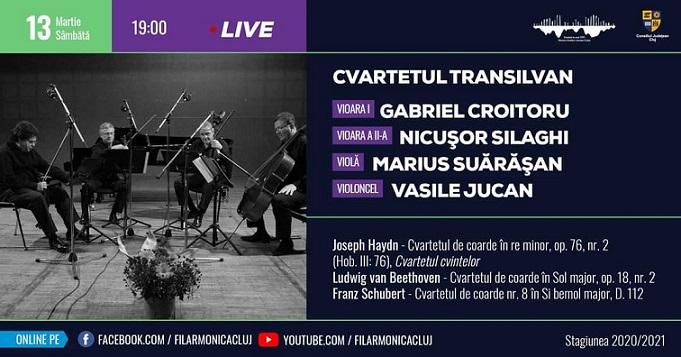 Recital - Cvartetul Transilvan