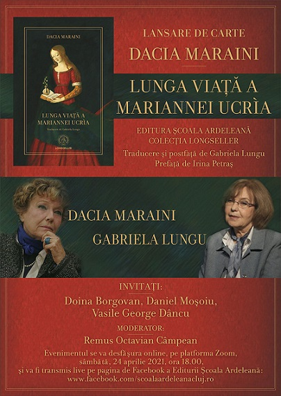 Lunga viata a Mariannei Ucria