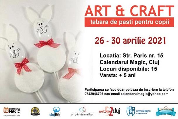 Tabara urbana de pasti Art & Craft