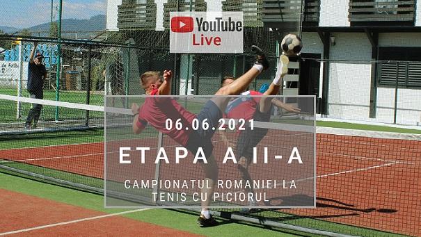 Campionatul României la tenis cu piciorul