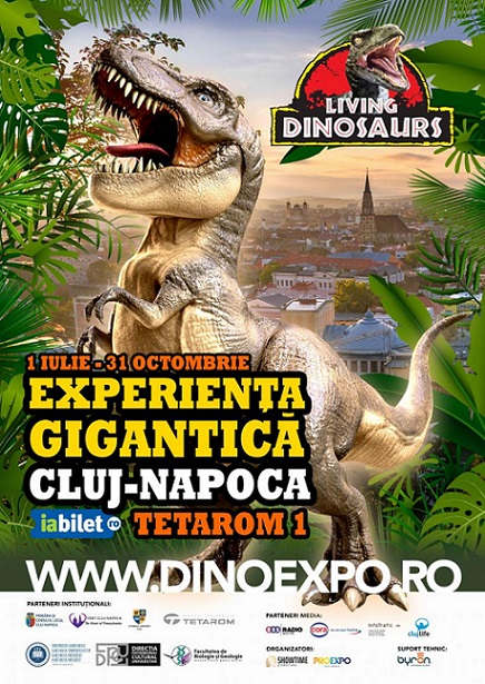 Expozitia Living dinosaurs experience