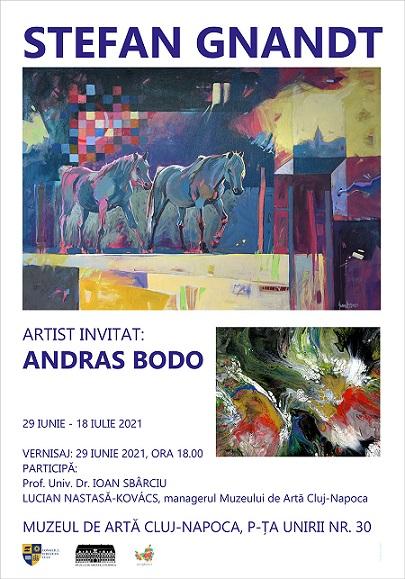 Expoziţia Stefan Gnandt și Andras Bodo