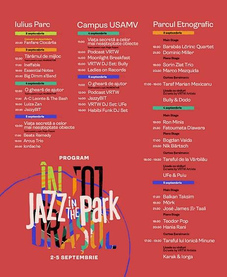 Începe Jazz in the Park