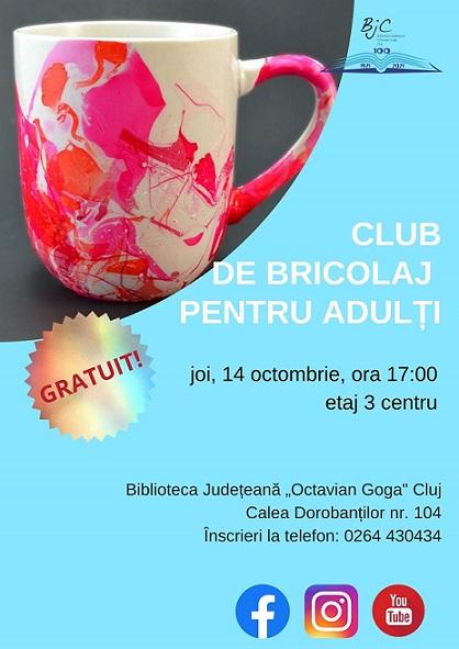 Club de bricolaj pentru adulți