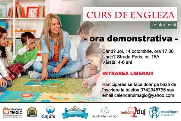 Curs de engleza pentru copii